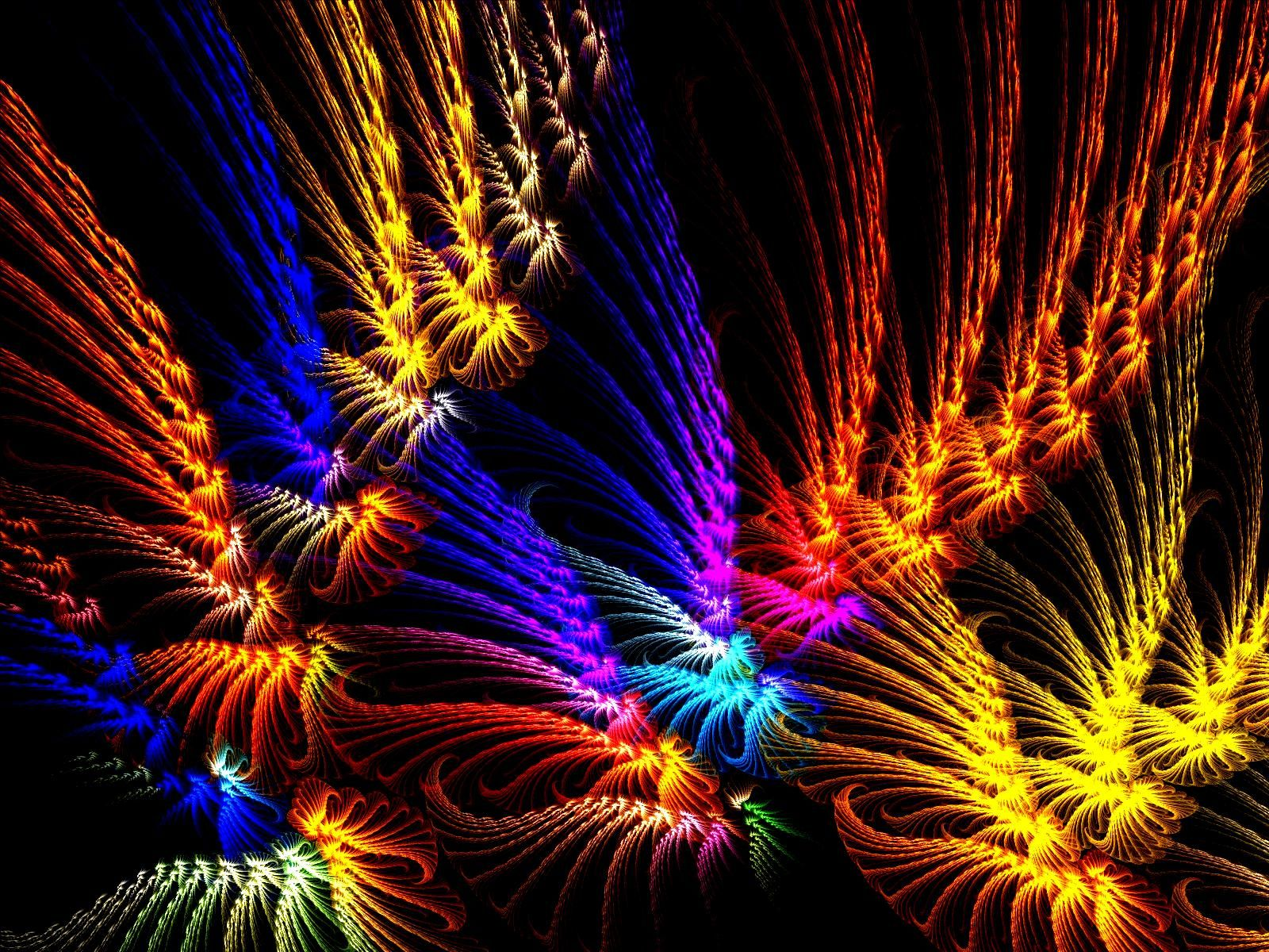 Tool Band Wallpaper Inside The Rainbow Fractal Abstract