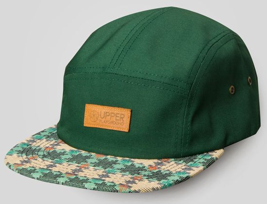 Dhaka Topi 5-Panel Hat by UPPER PLAYGROUND  8fe25a22441d