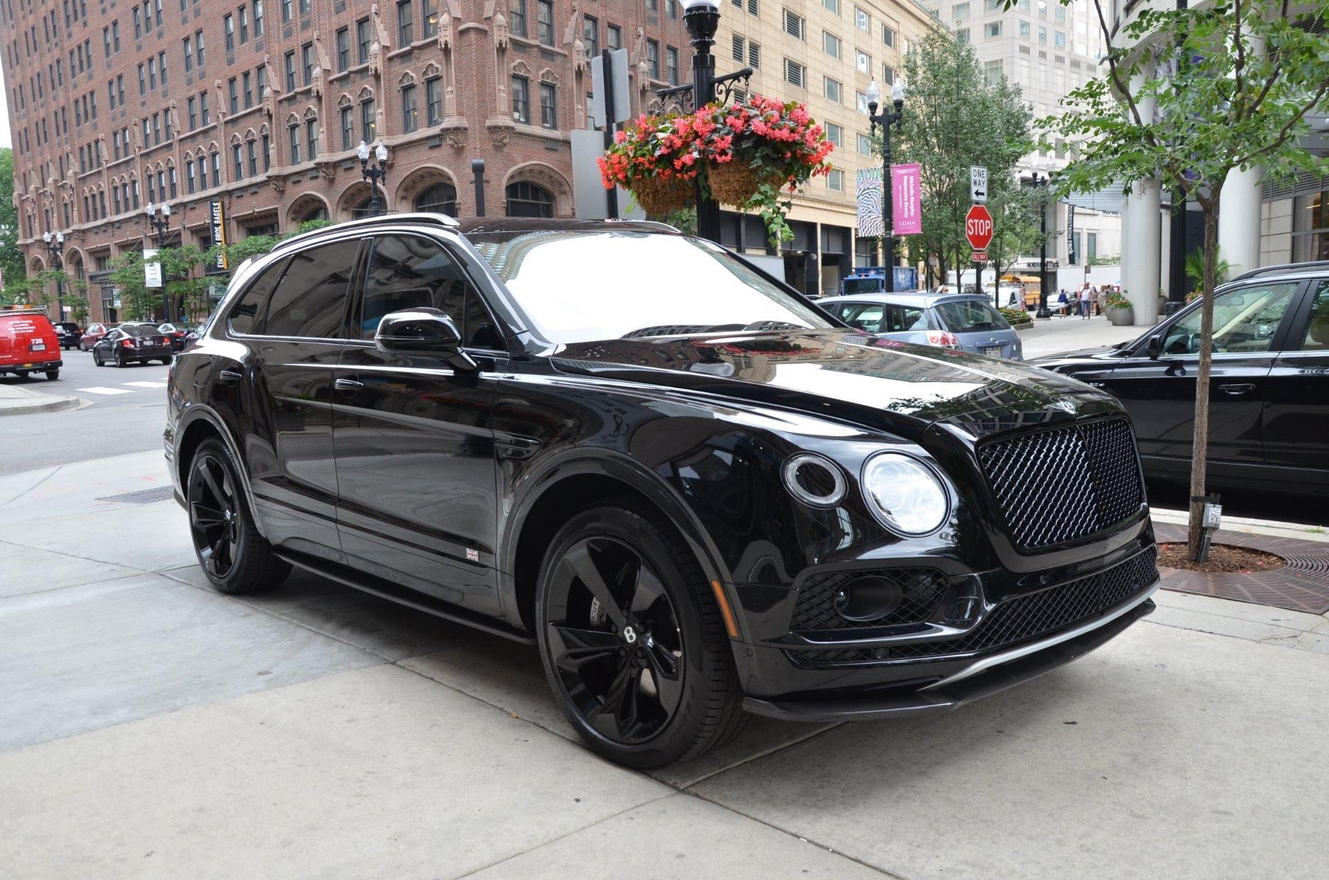 2018 Bentley Bentayga Black Edition Stock B960 S For Sale Near
