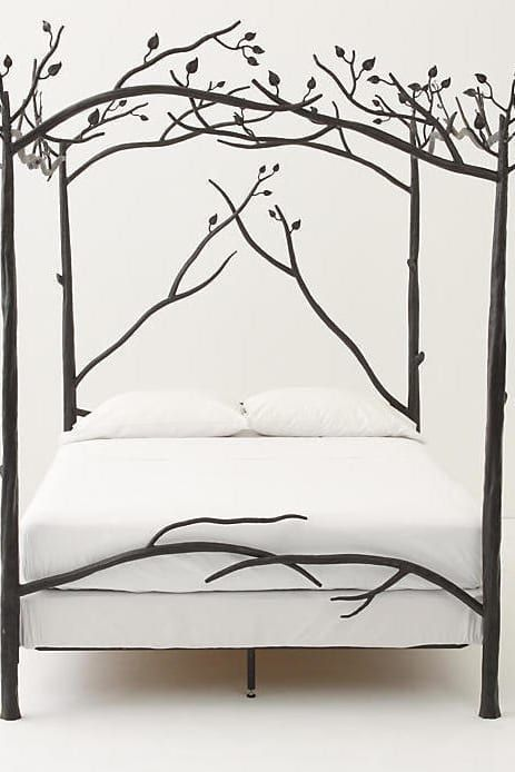 28 Pieces Of Furniture So Gorgeous They Should Get An Agent Canopy Bed Branch Bed Forest Canopy
