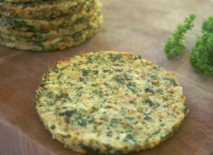 Paleo Cauliflower And Spinach Breakfast Bread Recipe Food