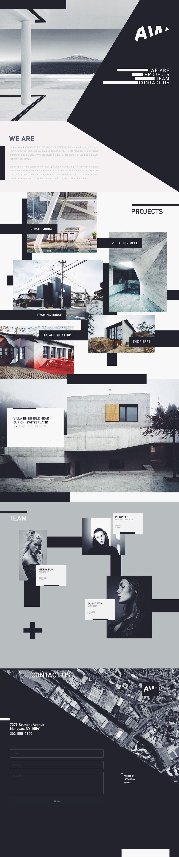 Aw Architectural Website Design Creative Web Design Web Layout Design Web Design