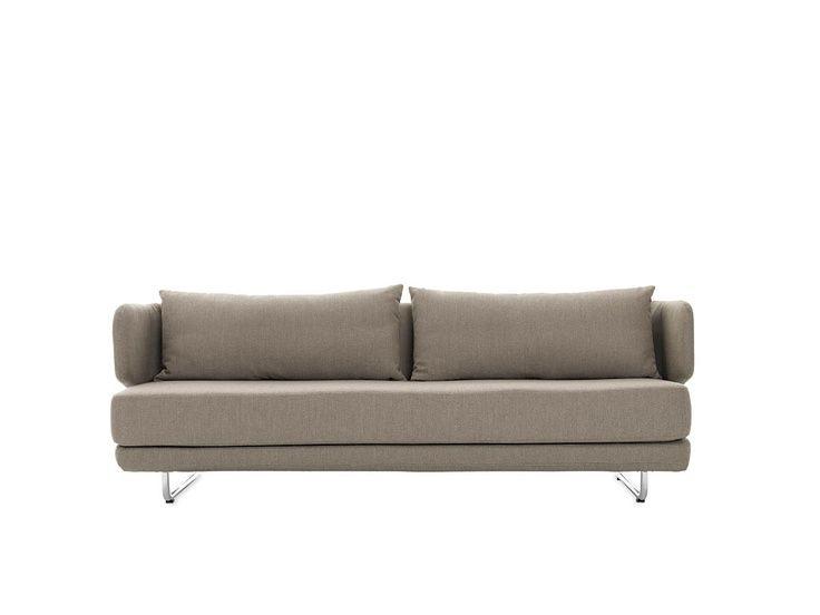 Leather Sofa Bay Sleeper Sofa designed by Busk Herzog dwr livingroom dwrLivingRoomSale