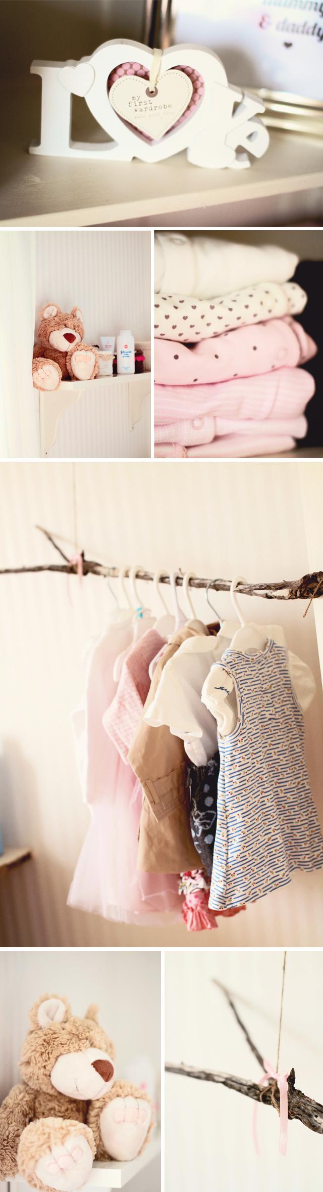 Like that branch as a clothes rod idea pregnancy u beyond