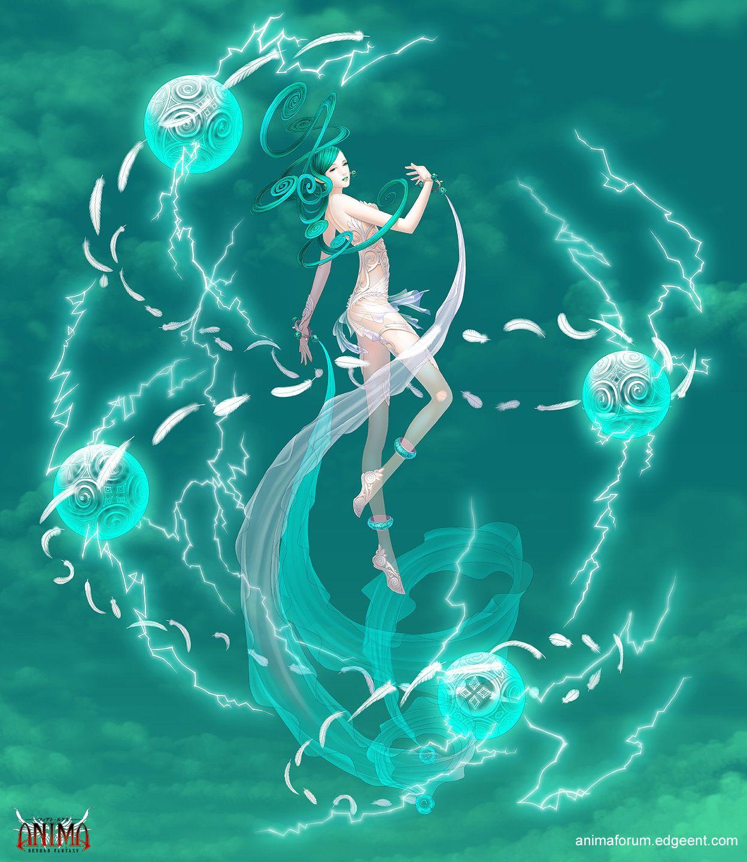 Anima Wind Elemental Boss By Wen M On Deviantart Sakimichan