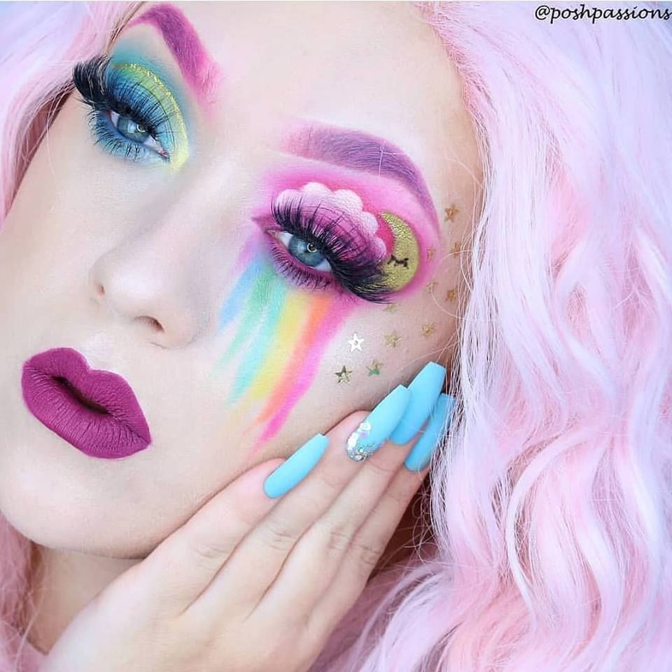 Pastel look by poshpassions shpassions 🌈 Unicorn