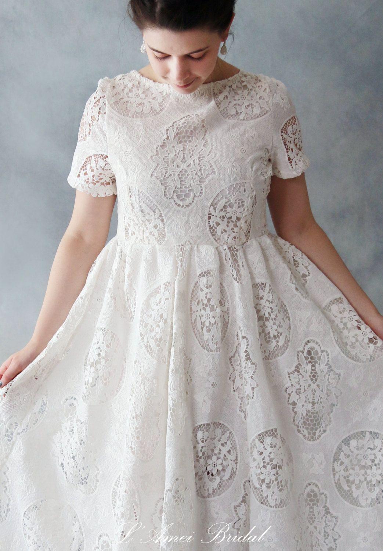 Vintage Style Alice in the Garden Tea Length Long sleeve