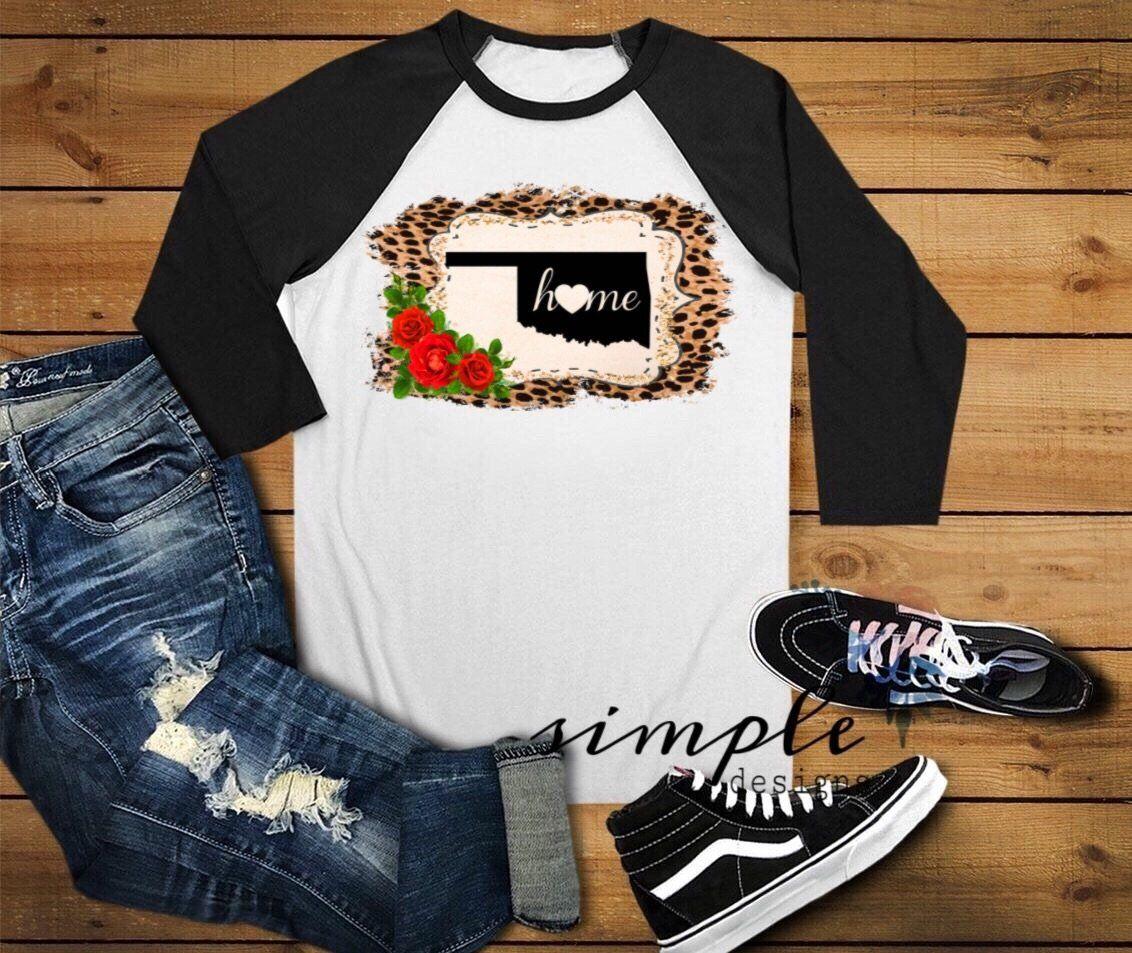 23427058 Oklahoma State Shirt, Love Oklahoma Cheetah Print   Christmas ideas ...