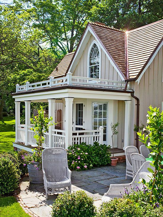 16 Creative Updates For Porches House Exterior Cottage Style Cottage Homes