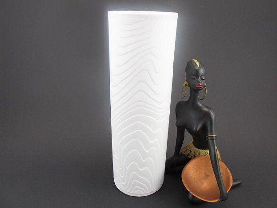 Große Vintage Bisquit Porzellan Vase von von ShabbRockRepublic