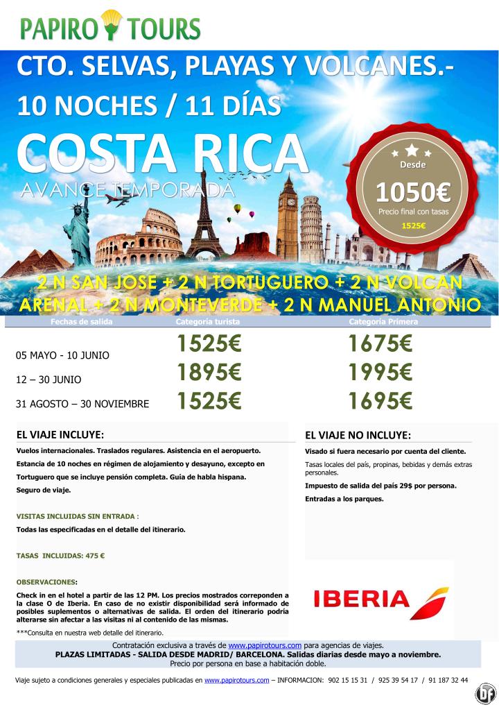 Costa Rica desde 1050€ desde mayo  10n San Jose,Tortuguero,Volcán Arenal,Monteverde y Manuel Antonio ultimo minuto - http://zocotours.com/costa-rica-desde-1050e-desde-mayo-10n-san-josetortuguerovolcan-arenalmonteverde-y-manuel-antonio-ultimo-minuto/