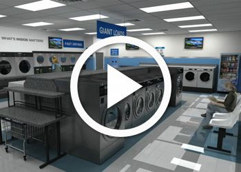 Getting into the laundromat business would be so great ...