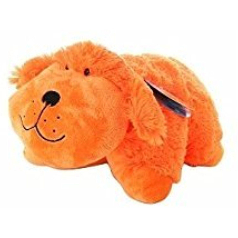 pillow pets neon orange dog 1 ea
