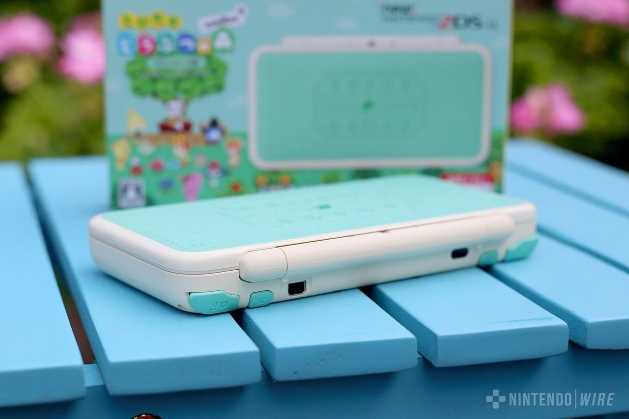 Retro Nintendo The Limited Edition Animal Crossing New 2ds Xl Animal Crossing Nintendo Retro