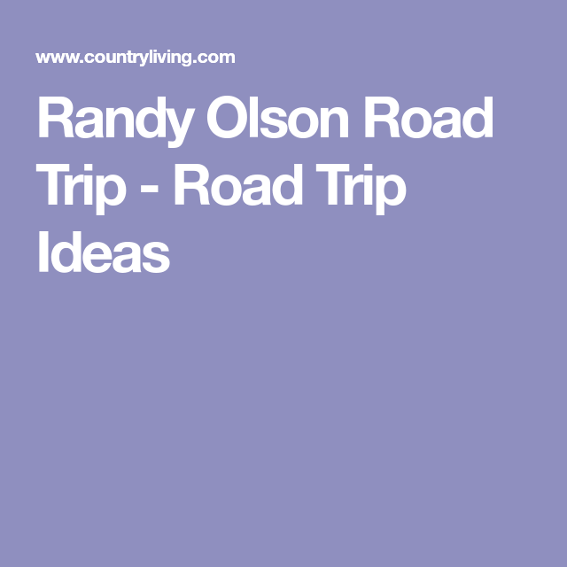 this data scientist has mapped the ultimate american road trip randy olson road trip road trip ideas