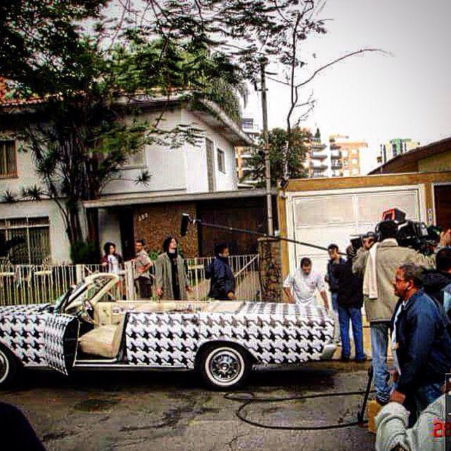 Minissérie Aline, Rede Globo 2005 - Conversível Pied Poule , convertible Pied Poule