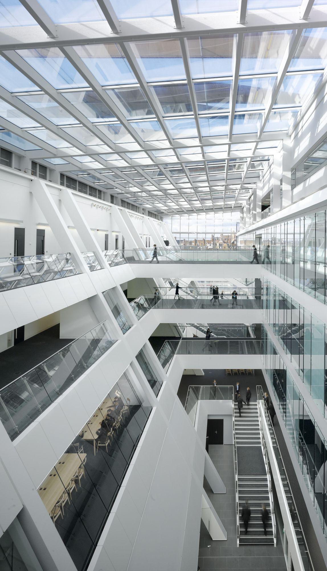 Holland park school aedas house ideas pinterest - Interior design for school buildings ...