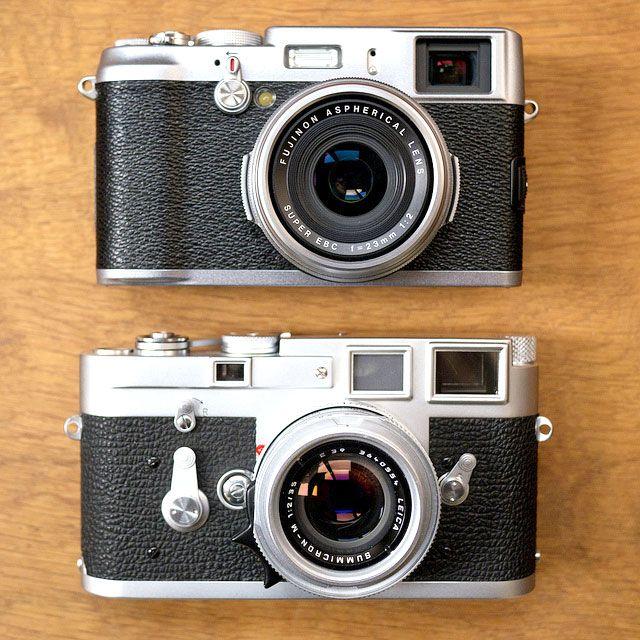 Leica-M3-Vs-Fujifilm-X100 | Design | Fuji digital camera, Camera
