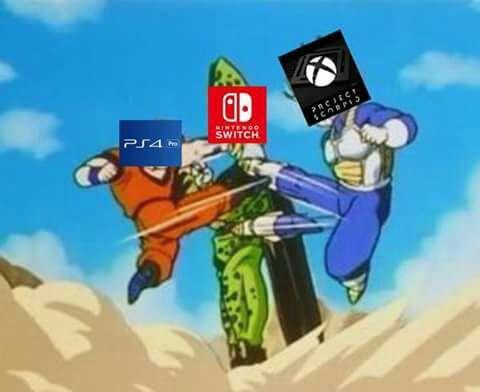 Xbox Vs Ps4 Meme