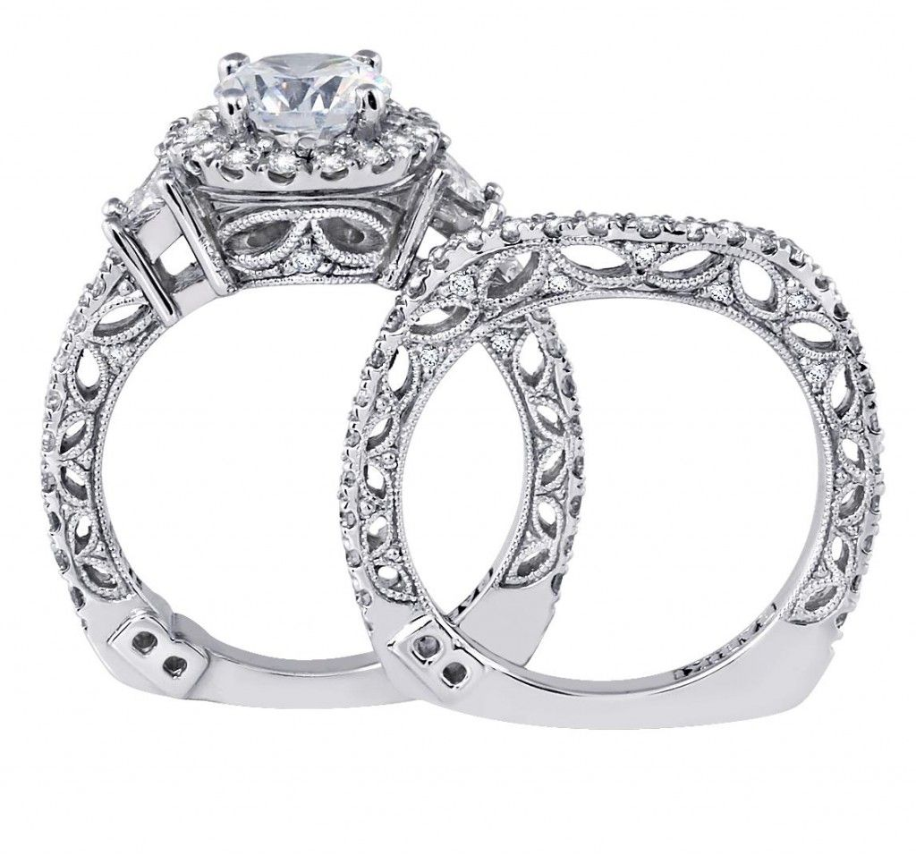 Babiki Diamond Wedding Ring Side Marquise Design From Our Monarch Jewelry Showroom