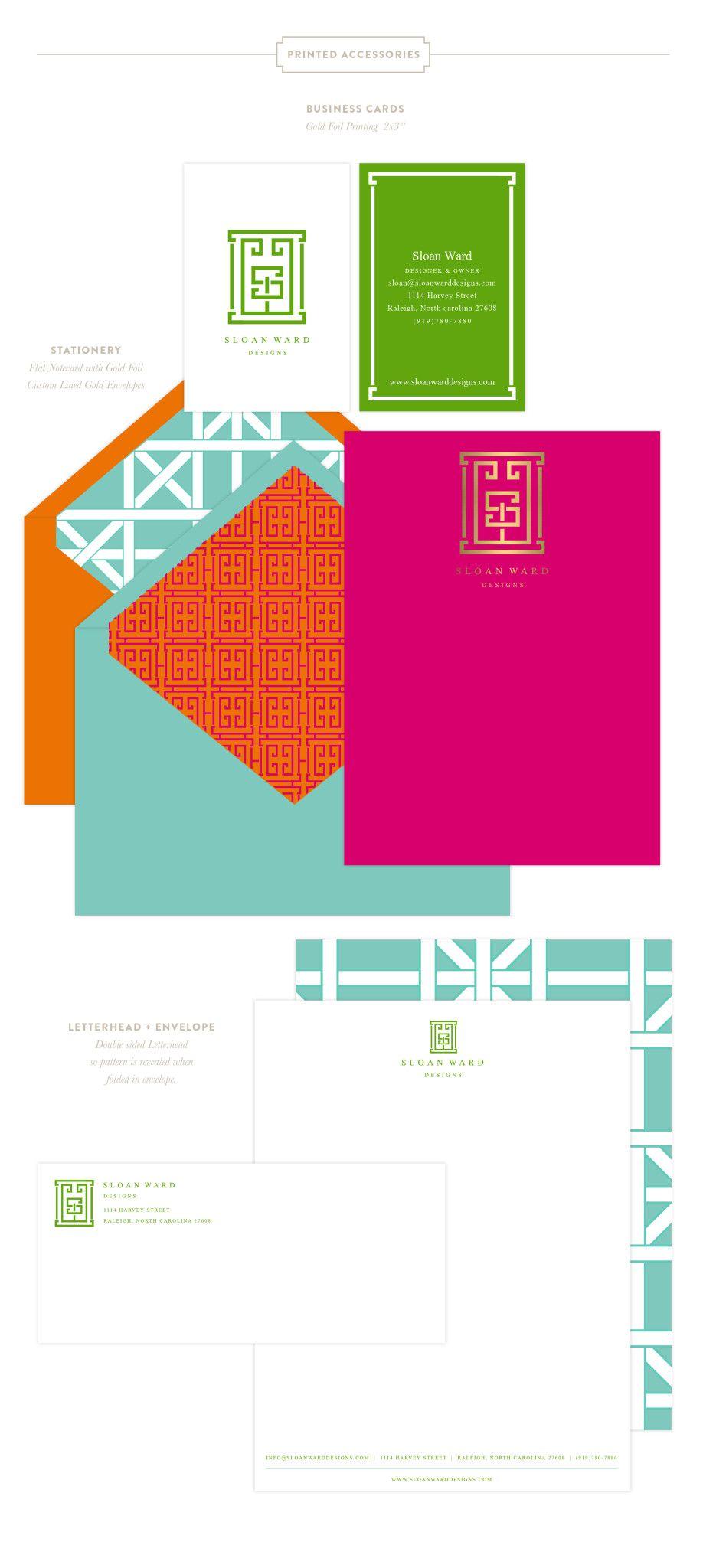 Emily McCarthy Branding | Sloan Ward Designs Printed Materials | www.emilymccarthy.com #branding