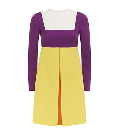 Valentino Crepe Couture Colour Block Long Sleeve Dress in Multi available now at Harrods. Shop Valentino dresses online & earn reward points. Free UK Returns.