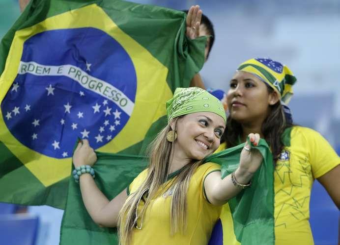 Copa 2014: veja fotos de torcedoras do Mundial de 2014 - Terra Brasil