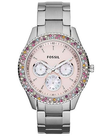 beautiful Fossil watch-- I have it thanks to @Abigail Marical