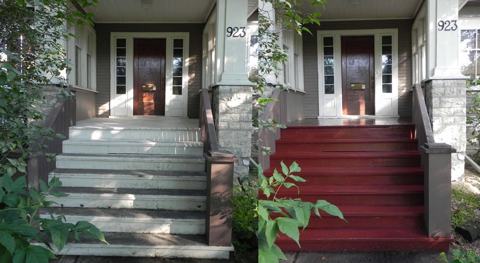 August Long Weekend Home Improvement Loans Painted | Painting Outside Concrete Steps