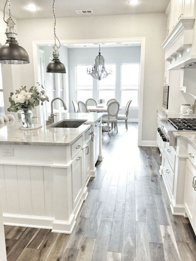 44 Nice Modern White Kitchen Design Ideas White Kitchen Design