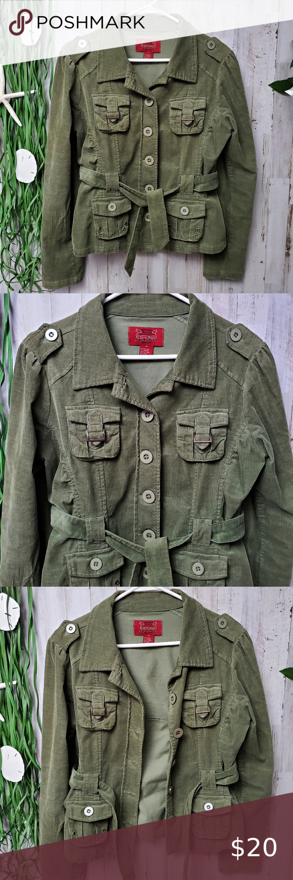 Paris Blues Green Corduroy Jacket Size Med Paris Blues Outerwear Green Corduroy Jacket Size Medium Pre Military Jacket Green Corduroy Jacket Paris Blues [ 1740 x 580 Pixel ]