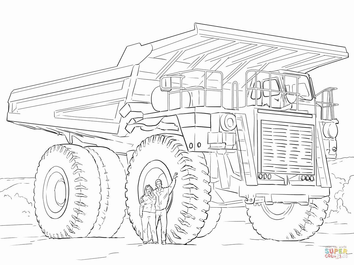 Tonka Truck Coloring Pages Beautiful Dump Truck Coloring Page Truck Coloring Pages Monster Truck Coloring Pages Valentines Day Coloring Page