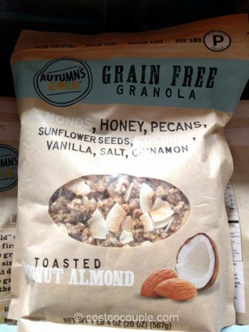 Autumns Gold Grain Free Granola From Costco I Love This Stuff We Use It For Cereal And My Daughter Puts It In Yogurt Grain Free Granola Granola Keto Granola
