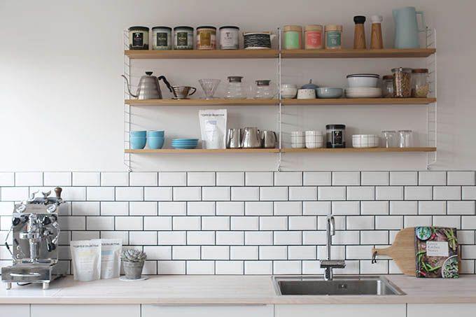 k kkenliv nu med metrofliser interior pinterest kitchens interiors and room. Black Bedroom Furniture Sets. Home Design Ideas