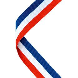 Red and blue ribbon Logos | Ribbon logo, Football medals ...