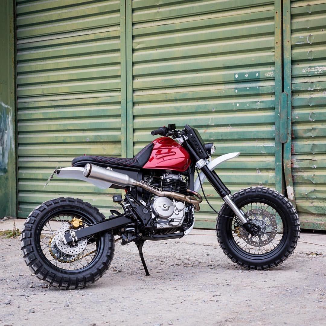 Baja Dominator: Honda NX650 by LL Motorcycles   Honda