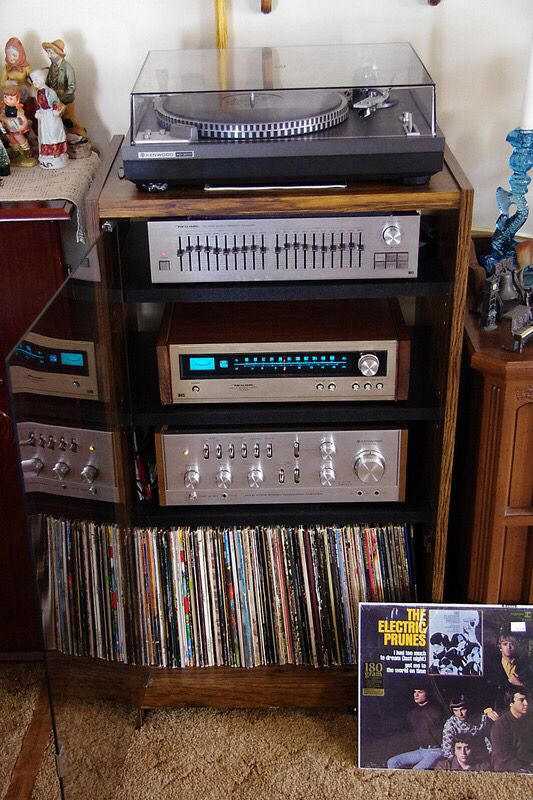 Vintage Hifi Component System In 2019 Stereo Cabinet