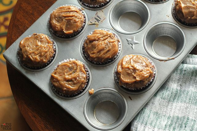 These delicious hearty muffins are healthified, but still keep their full peanut butter and banana flavours. Easy to make but even easier to eat! Recipe on The Tummy Train blog! :)