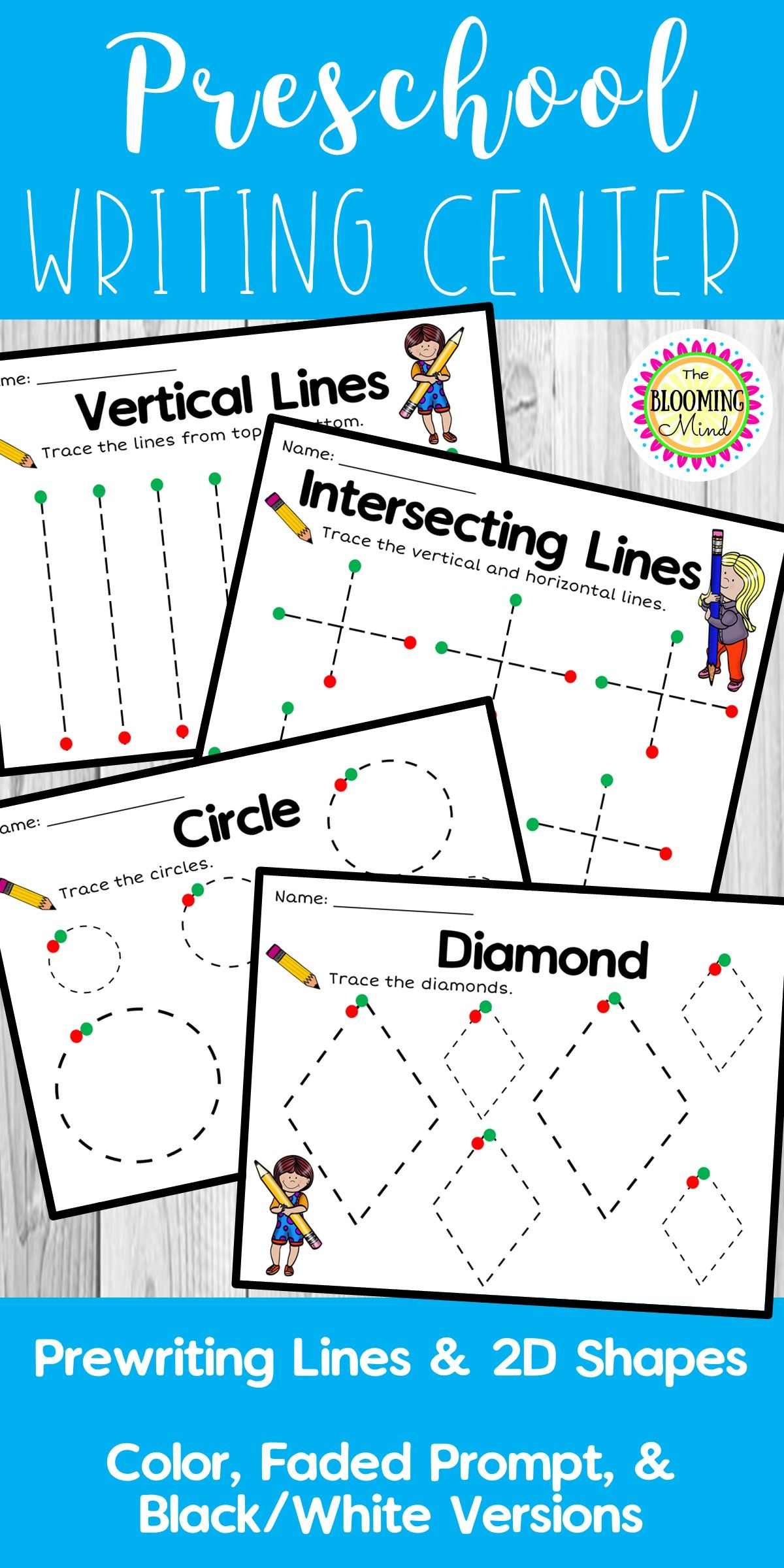 Tracing And Fine Motor Skills