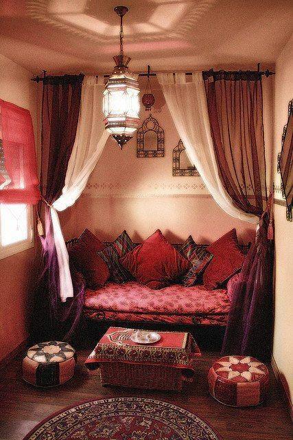 #orientalisches #wohnzimmer #rosa #mehrrosa orientalisches ...