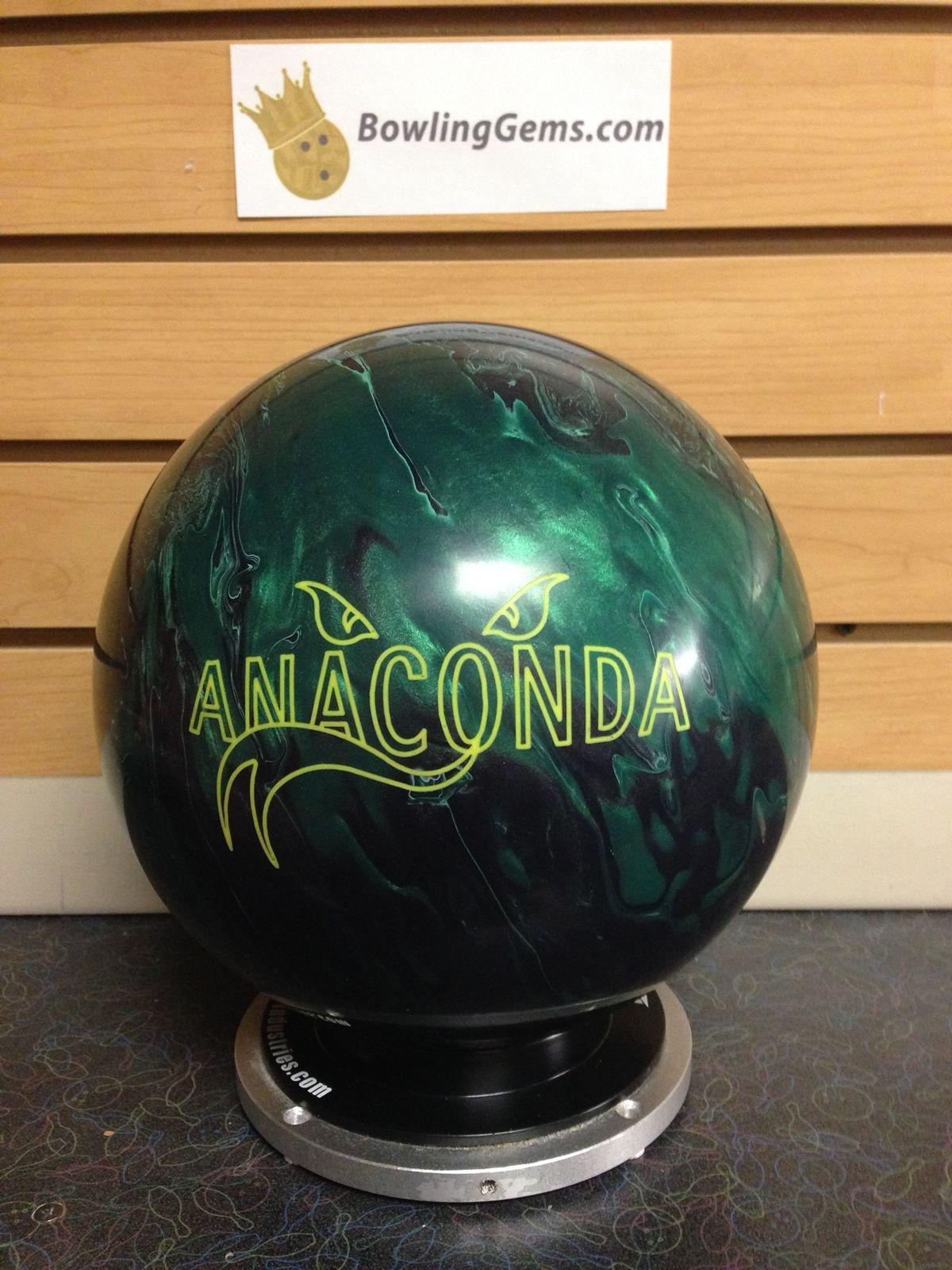 Brunswick Anaconda 15 Lbs Nib Http Www Bowlinggems Com Product Brunswick Anaconda 15 Lbs Nib Bowling Bowling Balls Ball