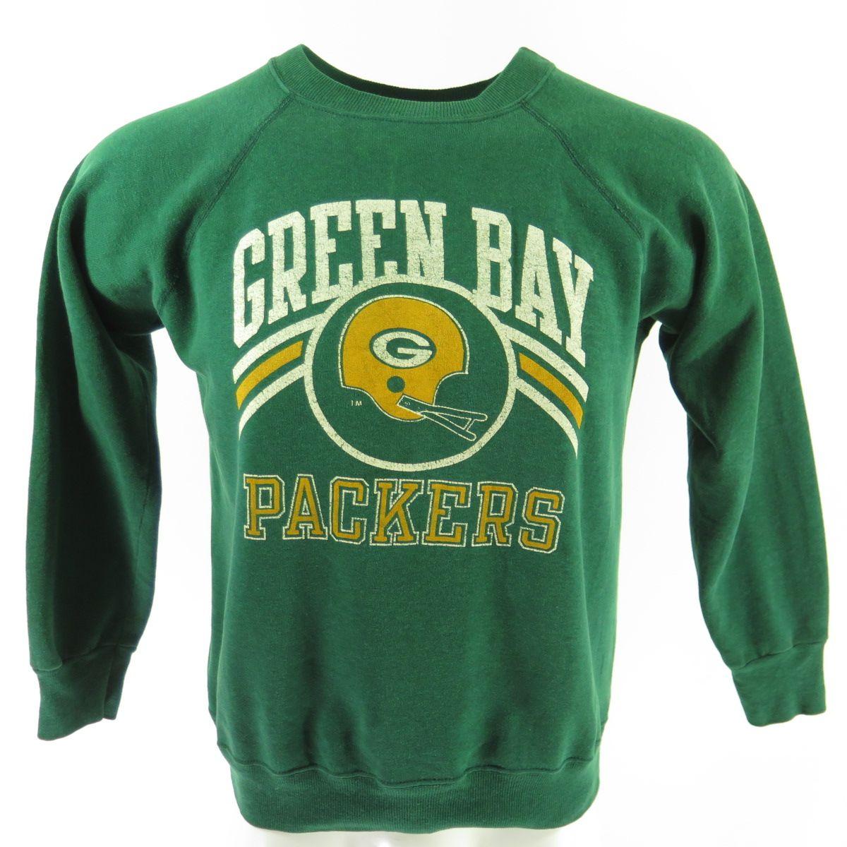 Vintage 80s Green Bay Packers Champion Sweatshirt Mens L Nfl Football Green Usa The Clothing Vault Champion Sweatshirt Vintage Sports Clothing Sweatshirts [ 1200 x 1200 Pixel ]
