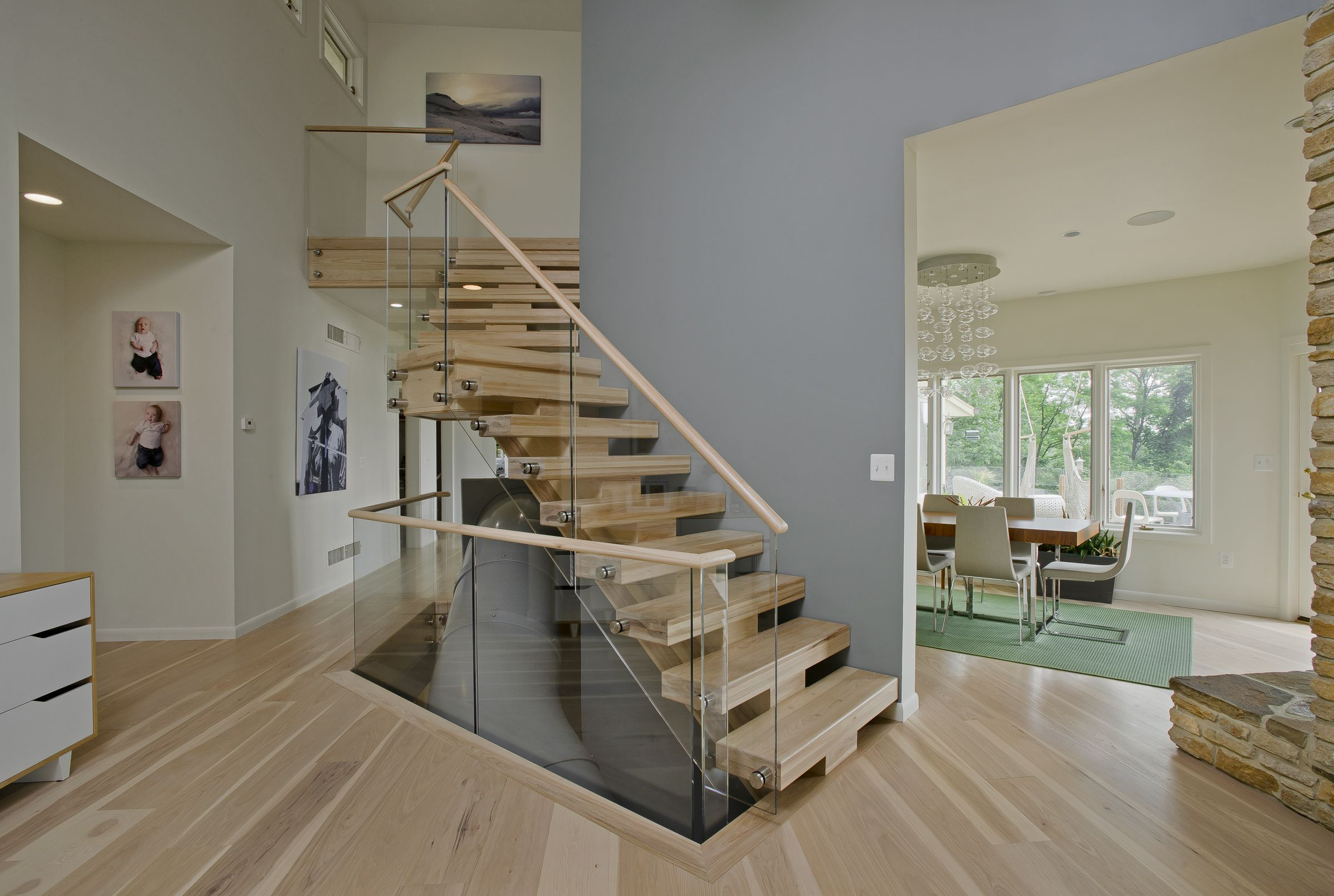 Best Contemporary Interior Remodel Home Stairs Design 400 x 300