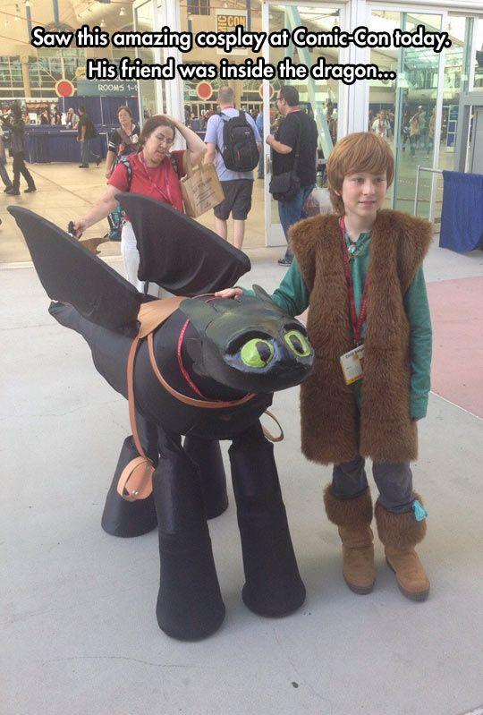 How to train your dragon cosplay is too good cosplay dragons and how to train your dragon hiccup and toothless excellent work boys ccuart Gallery