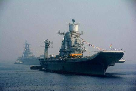 With an eye on China, India sends aircraft carrier to Male - The Times of India
