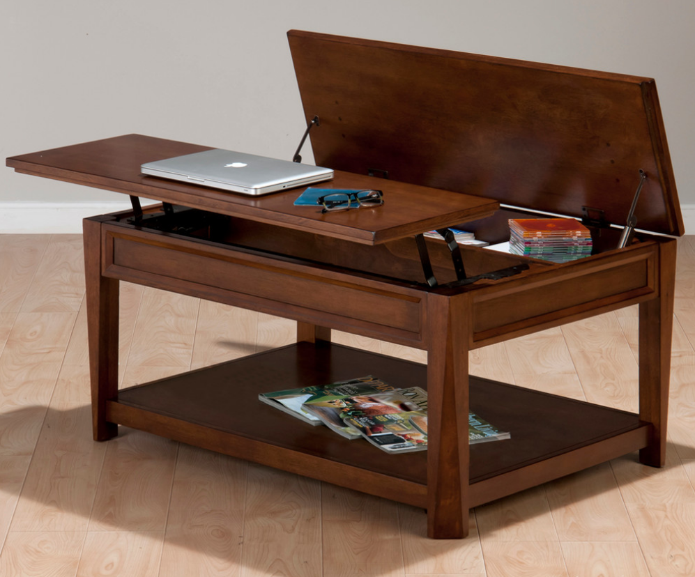 Secret Storage Secret Storage Compartment In Cocktail Table Coffee Table Coffee Table Design Ikea Coffee Table [ 828 x 997 Pixel ]