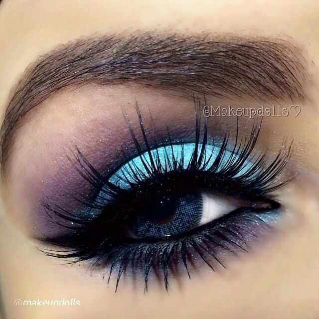 Winter Wonderland: Pretty Makeup for Blue Eyes