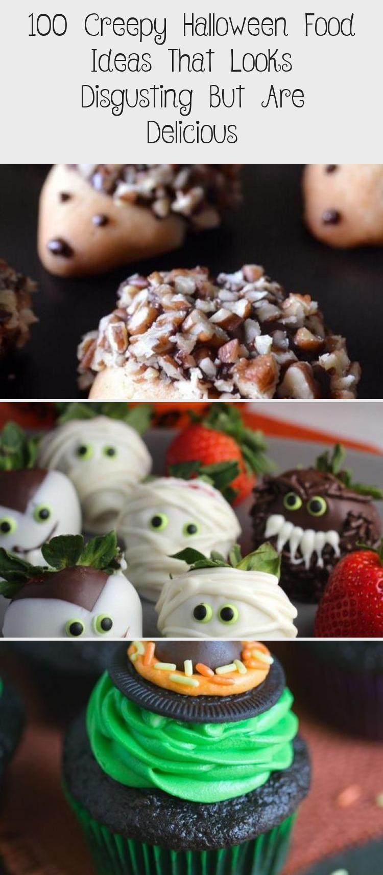 100 Creepy Halloween Food ideas that looks disgusting but