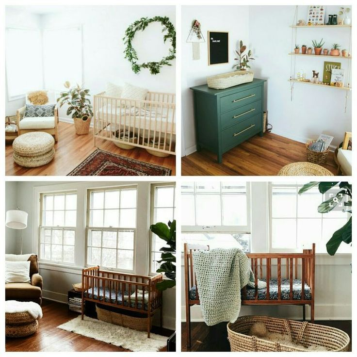 Modern Nursery Ideas: Woodland / Mid Century Modern Nursery Decor