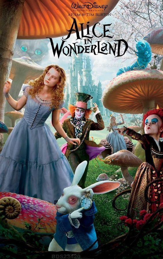 Alice In Wonderland Poster Collection 30 Wonderful Posters For All Fantasy Ficti Alicia En El Pais De Las Maravillas Imagenes De Alicia Pais De Las Maravillas
